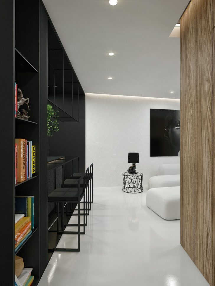 Modern Black and White Interior Design 2021