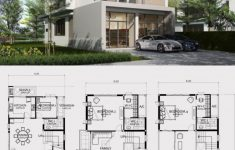Modern Home Building Plans New Home Design Plan 8x20m With 6 Bedrooms In 2020 With Images