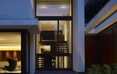 Modern House With View Beautiful Staircase Window Design Outside View