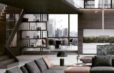 Modern Luxury Apartment Design Unique Penthouse Modern Living Room By Inception Design Cell Modern