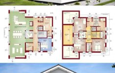 Modern Luxury Villa Design Elegant Villa House Plans & Interior Architecture Design – Concept M