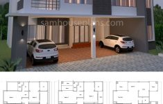 Modular Duplex House Plans Lovely House Plan 14x16m With 5 Bedrooms