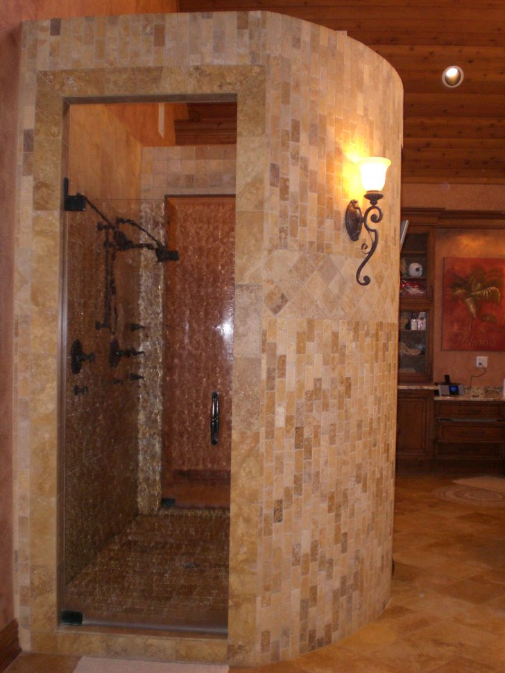 No Door Shower Design Ideas 2021