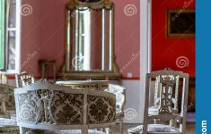 Old Antique Furniture Cheap Awesome Empty Furniture Set In An Old Castle Stock Image Of