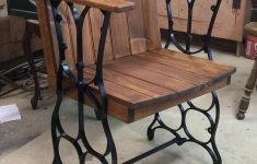 Old Antique Furniture Cheap Luxury I Made This Chair From An Old Set Of Treadle Sewing Machine