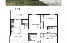 One Level House Plans With Garage Unique 3 Bedroom One Story Home With Garage Open Floor Plan