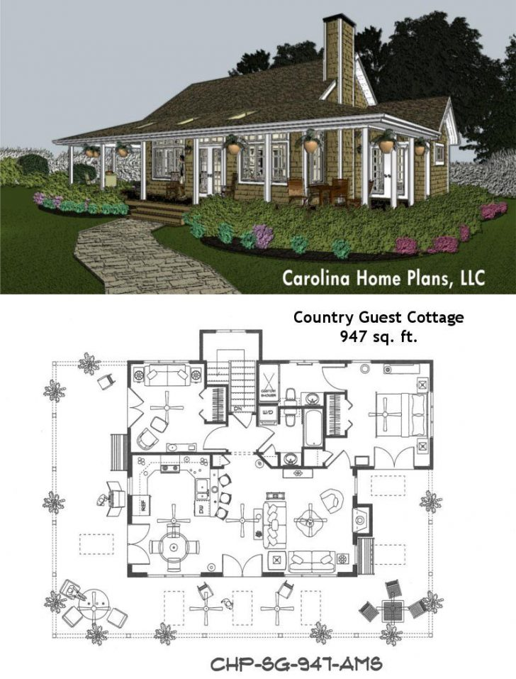 One Level House Plans with Porch 2020