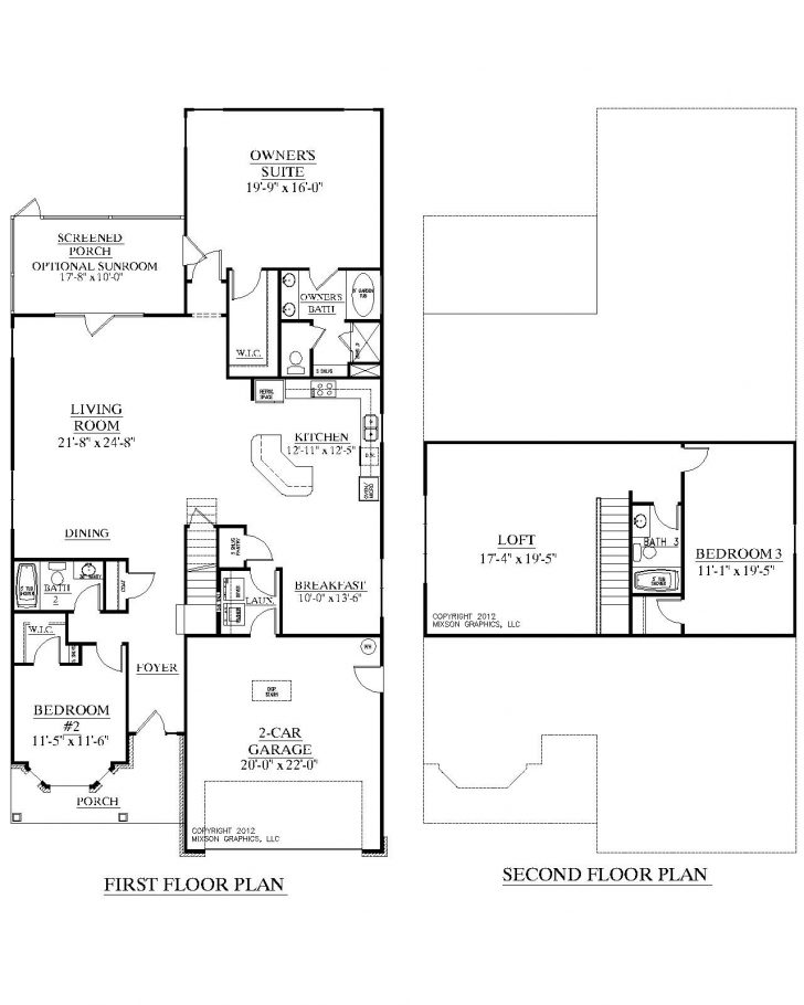 One Story House Plans with Photos 2020
