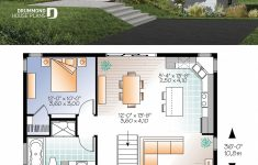 Open Floor Plan Home Designs Lovely Abundantly Fenestrated Two Bedroom Modern House Plan With
