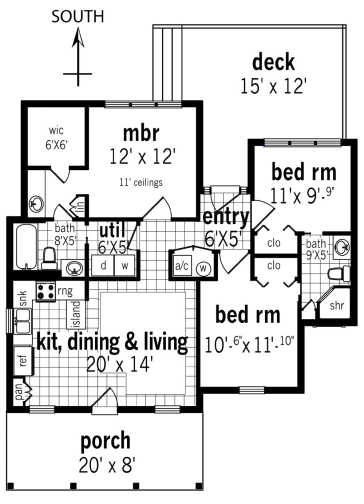 Open Floor Plan House Plans with Photos 2021