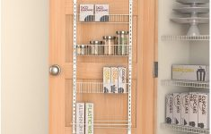 Over The Cabinet Door Organizer Best Of Panacea Grayline Back Of The Door Organizer White