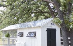 Plans for A Chicken House Luxury Fancy Farmhouse Diy Chicken Coop Reveal southern Revivals