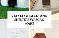Plans For Dog Houses Elegant Diy Dog Houses Archives Shelterness