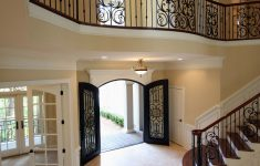 Pretty Houses Inside And Out Inspirational Amazing Open Foyer With Beautiful Stair Case And Balcony
