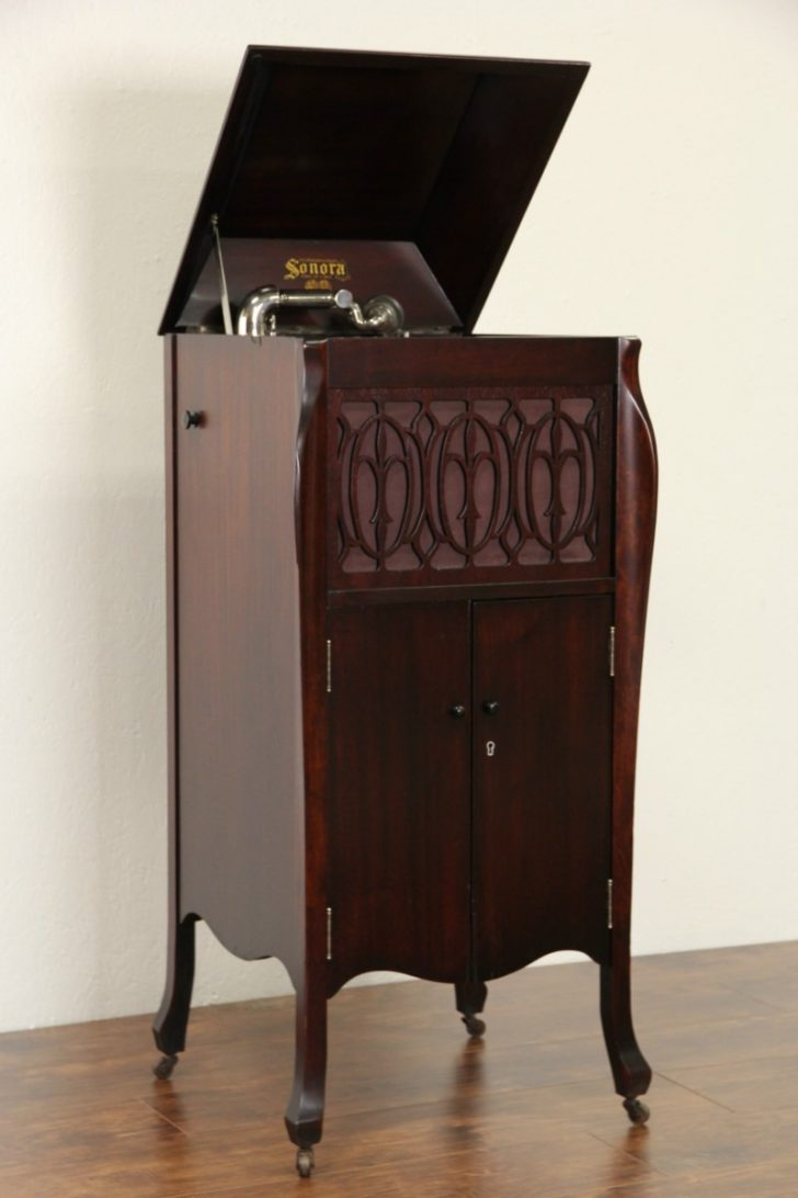 Record Player Furniture Antique 2020