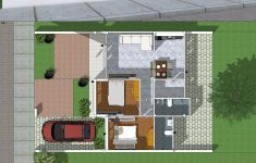 Simple House Design Images Unique Simple Home Design Plan 10x8m With 2 Bedrooms Imagens