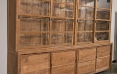 Sliding Glass Door Cabinet New Sliding Glass Door Teak Cabinet At 1stdibs