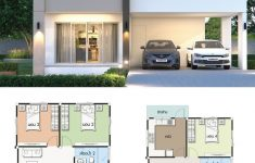 Small 2 Story House Design Elegant House Design Plan 9x12 5m With 4 Bedrooms With Images