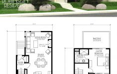 Small 2 Story House Design Inspirational The Contemporary Borden 1757 Plan Is A Small 2 Story Suited