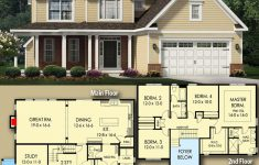 Small 2 Story House Design Unique Plan Glv Delightful 4 Bed House Plan With 2 Story