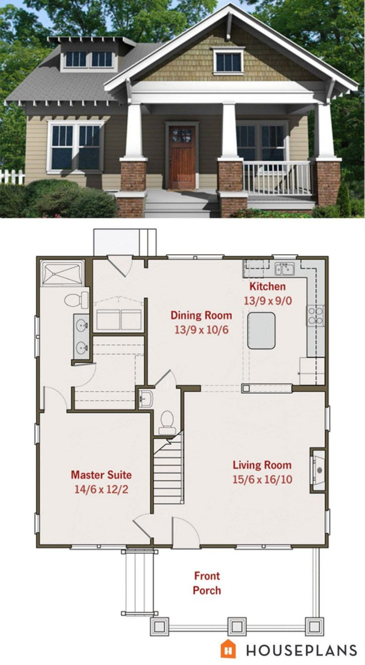 Small House Floor Plans with Porches 2020