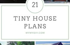 Small Houses On Wheels Plans Beautiful 21 Diy Tiny House Plans [blueprints] Mymydiy