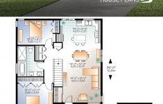 Small Modern Floor Plans New House Plan Rising Moon 2 No 3129 V1