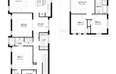 Small Narrow Lot House Plans Elegant Narrow Plans With 4 Bedrooms