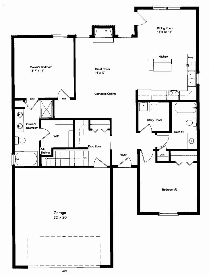 Small One Room House Plans 2020