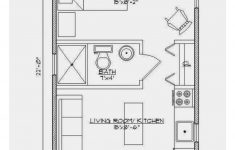 Small One Room House Plans Fresh Small House 14x22 1 Bedroom Ecohouselayout With Images