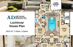 Southern Luxury House Plans Luxury Lochinvar House Plan