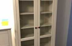 Tall Cabinet With Glass Doors Elegant Ikea White Tall Cabinet With Glass Doors In Shirehampton Bristol