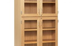 Tall Cabinet With Glass Doors Lovely Diversified 357 3622k Tall Storage With Four Glass Doors 36 Inch