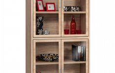 Tall Cabinet With Glass Doors New Tall Storage Cabinet With Glass Door Indio Line Reality