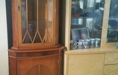 Tall Corner Cabinet With Doors Fresh 3 Pieces Of Quality Yew Furnifture In Ll22 Towyn Für 100 00