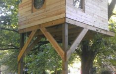 Tree House Plans Without A Tree Inspirational Tree House And Round Window