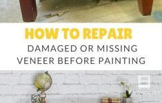 Veneer Repair Replacement On Antique Furniture Awesome How To Repair Damaged Veneer Before Painting Furniture