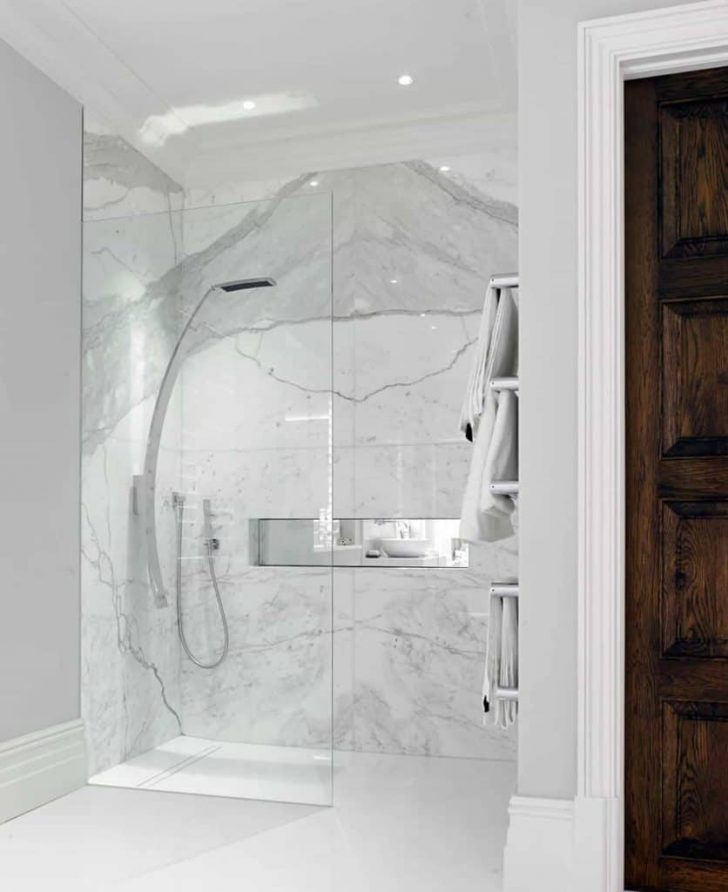 Walk In Shower Designs without Doors Pictures 2020