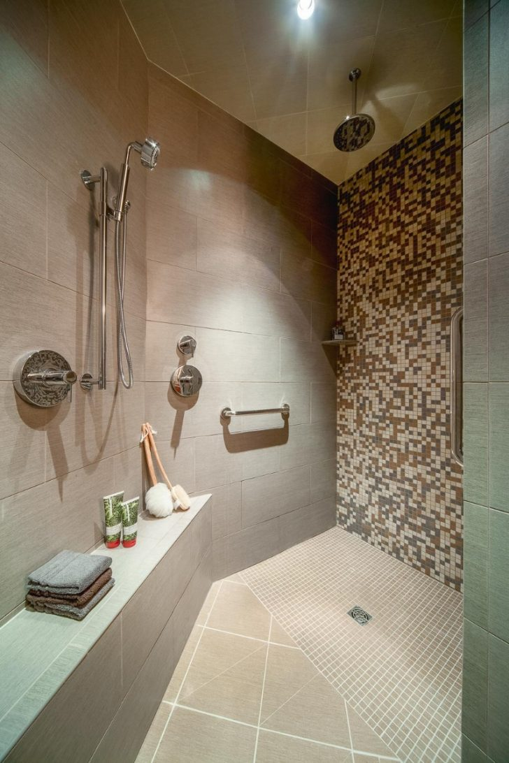 Walk In Shower Ideas without Doors 2021