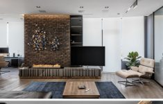 Wall Glass Design Interior Unique This Modern And Masculine Apartment Has A Smart Glass Wall