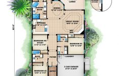 Waterfront Narrow Lot House Plans Beautiful Mediterranean House Plan Waterfront Golf Course Bungalow