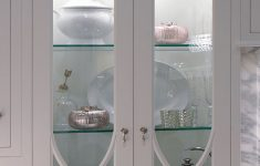 White Cabinet with Glass Doors Lovely I D Really Like Wavy Glass Upper Cabinet Doors with Glass