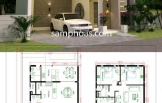3d House Designs And Floor Plans Inspirational 3d House Design Plans With 3 Bedrooms Plot 10x20m