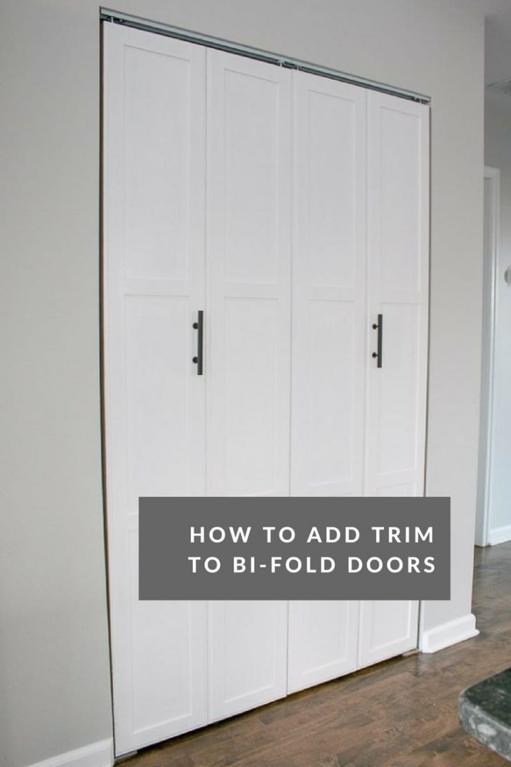 Adding Trim to Cabinet Doors 2021