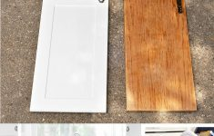 Applying Wood Trim To Old Kitchen Cabinet Doors New Kitchen Hack Diy Shaker Style Cabinets