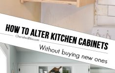 Applying Wood Trim To Old Kitchen Cabinet Doors Unique Kitchen Hack Diy Shaker Style Cabinets Cherished Bliss