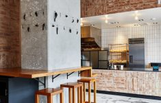 Architecture And Design Photos Elegant Terracotta Brick And Stucco Give Mexican Restaurant Loqui A