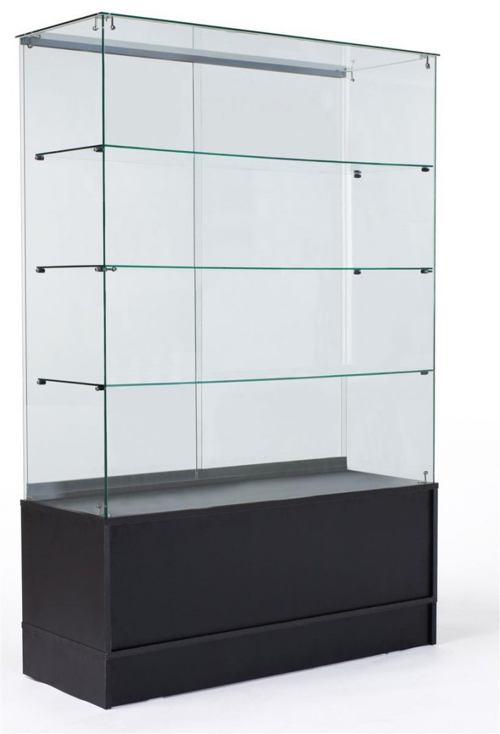 Black Cabinet with Glass Doors 2021