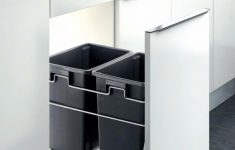 Cabinet Door Trash Can Lovely Pull Out 2 Container Kitchen Cabinet Trash Can Waste Bin Door Mounted Soft Close