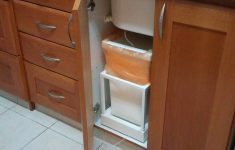 Cabinet Door Trash Can New Automatic Kitchen Trash Can